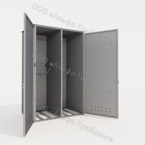 ШГМ-02-03 шкаф для баллонов