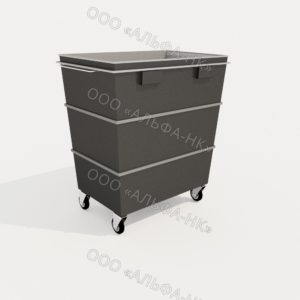 КМП-01 контейнер мусорный