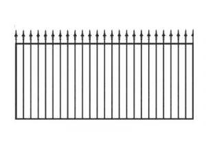 Забор из профильной трубы №3